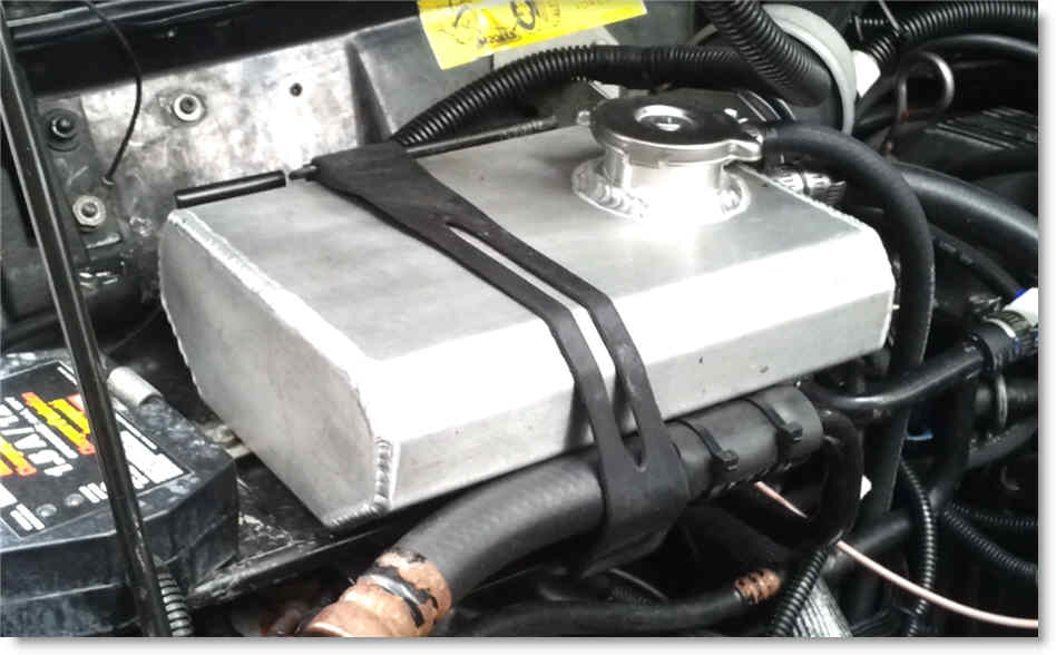 Jeep Cherokee 1987-1990 Radiator Cap Black Located on Coolant Bottle